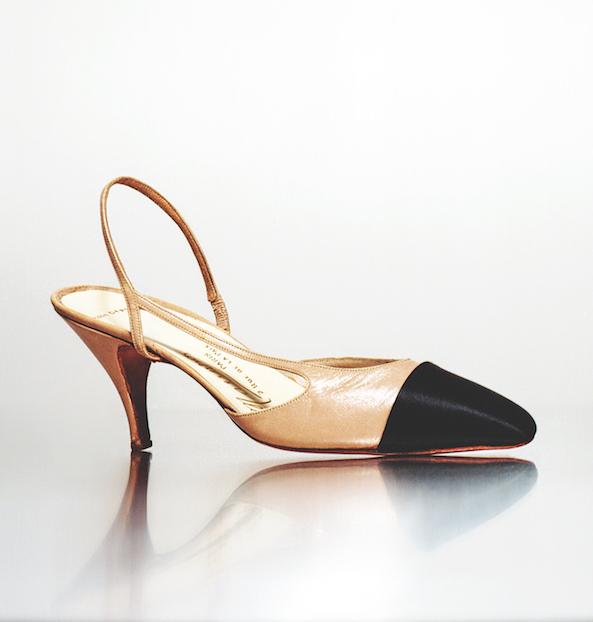 Expositie Chanel 2020 Parijs schoenen