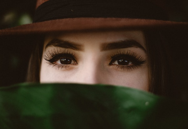 mascara Frans meisje jaren 60