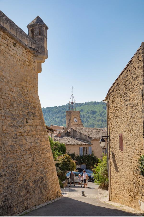 mooi dorp Ansouis Luberon Vaucluse