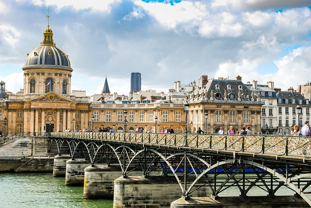 Parijs bruggen Seine Pont des Arts
