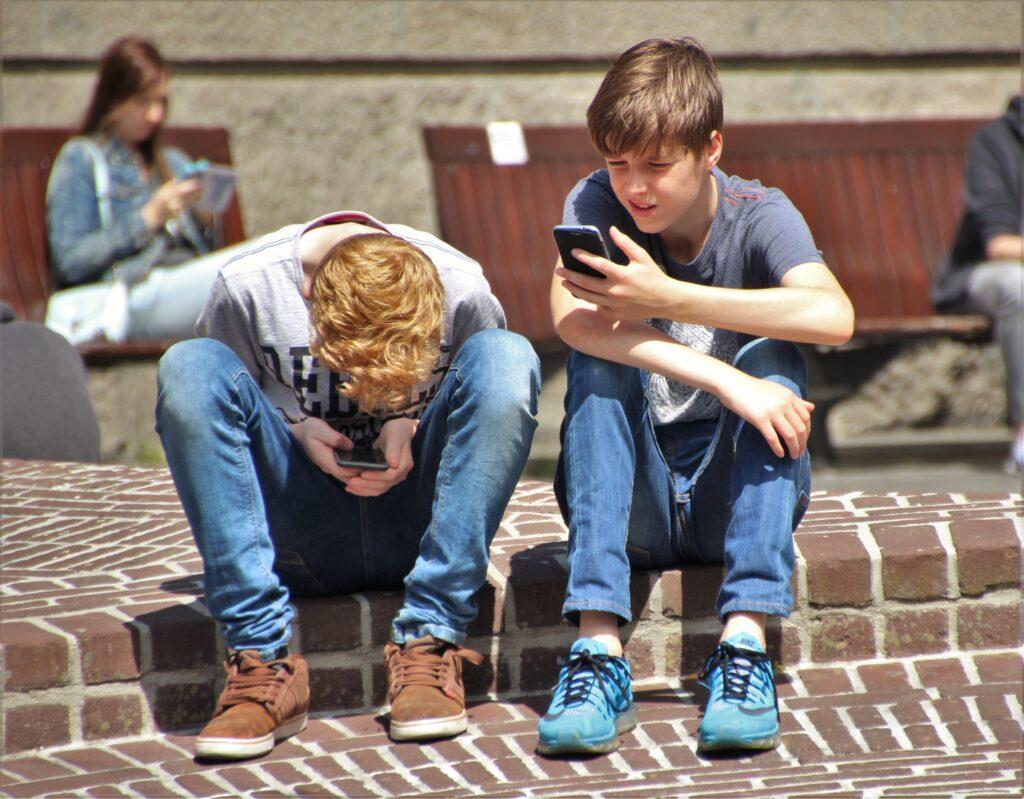 jongens telefoon