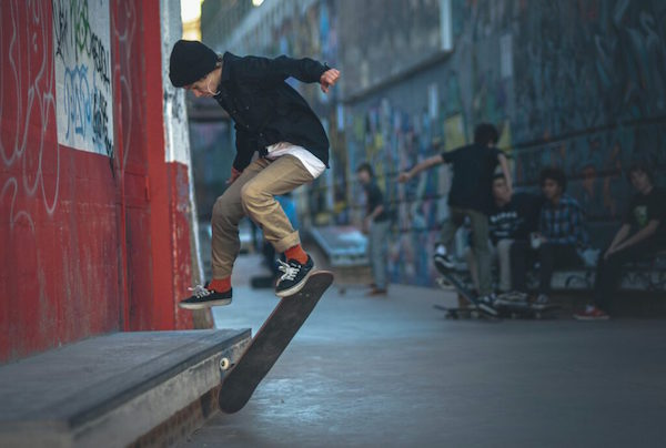 Skater in Marseille