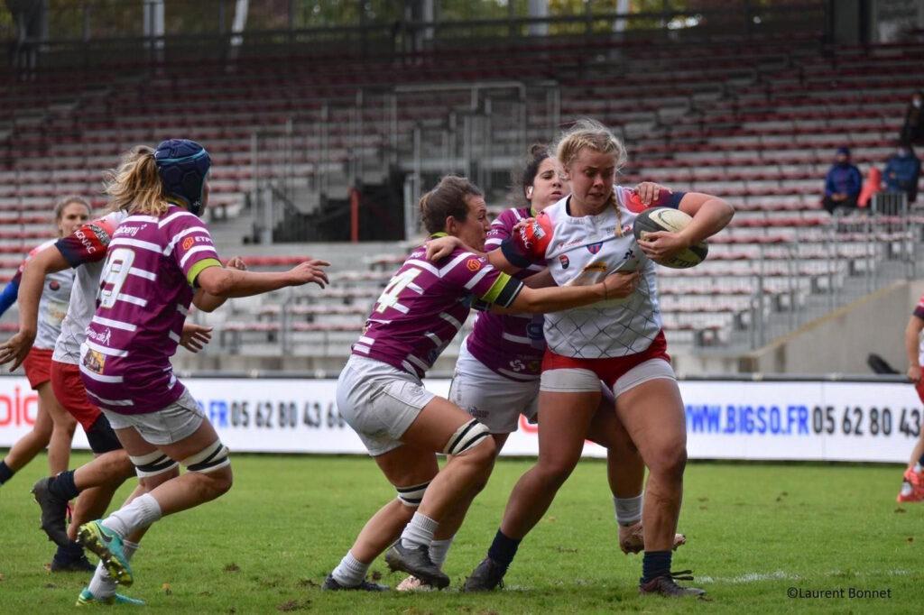 Coco Nederlands meisje rugbytalent in Frankrijk