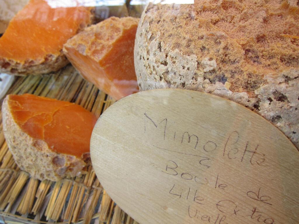 Franse kaasjes uit Noord-Frankrijk mimolette