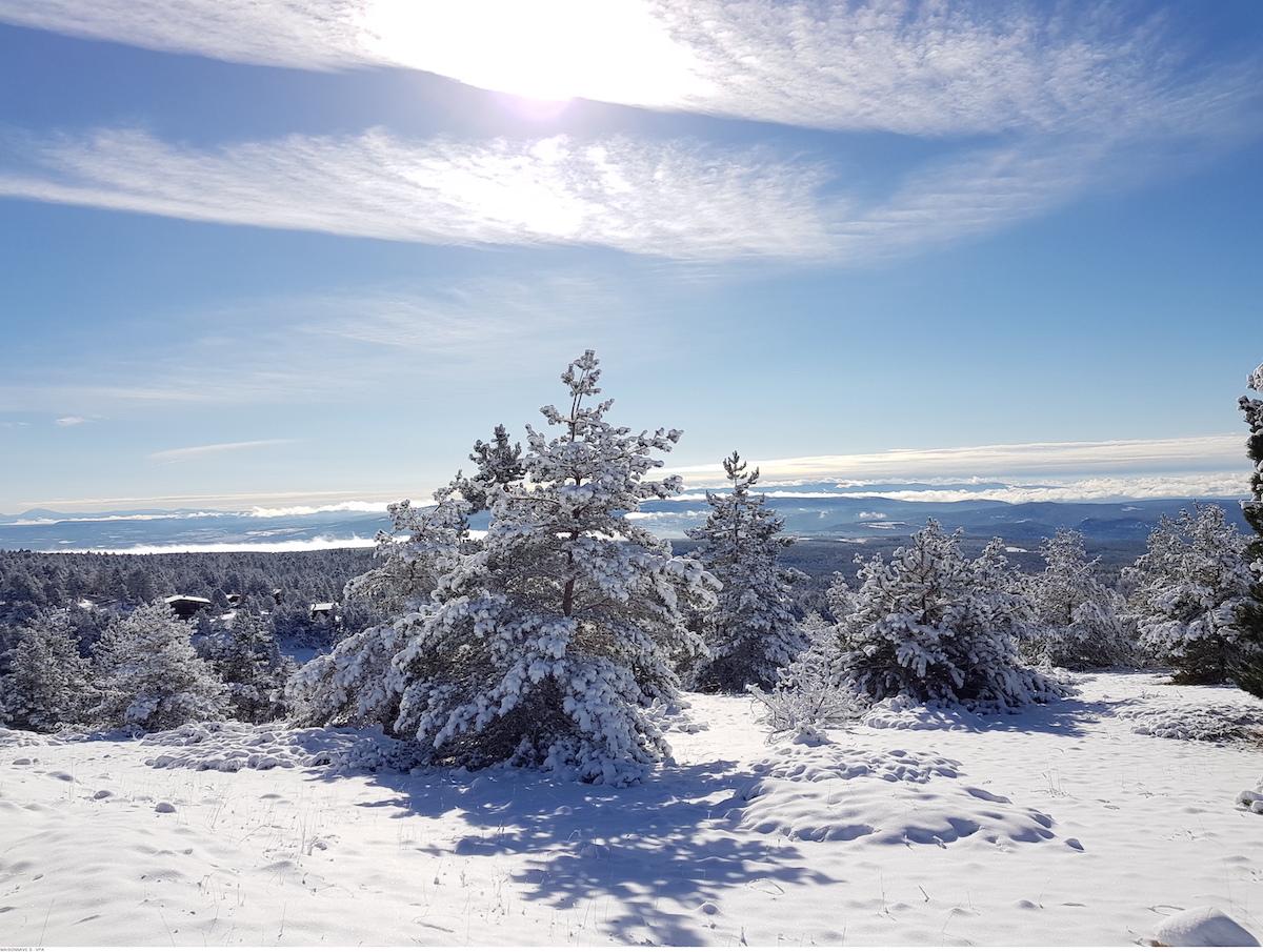 Mont Ventoux in de sneeuw