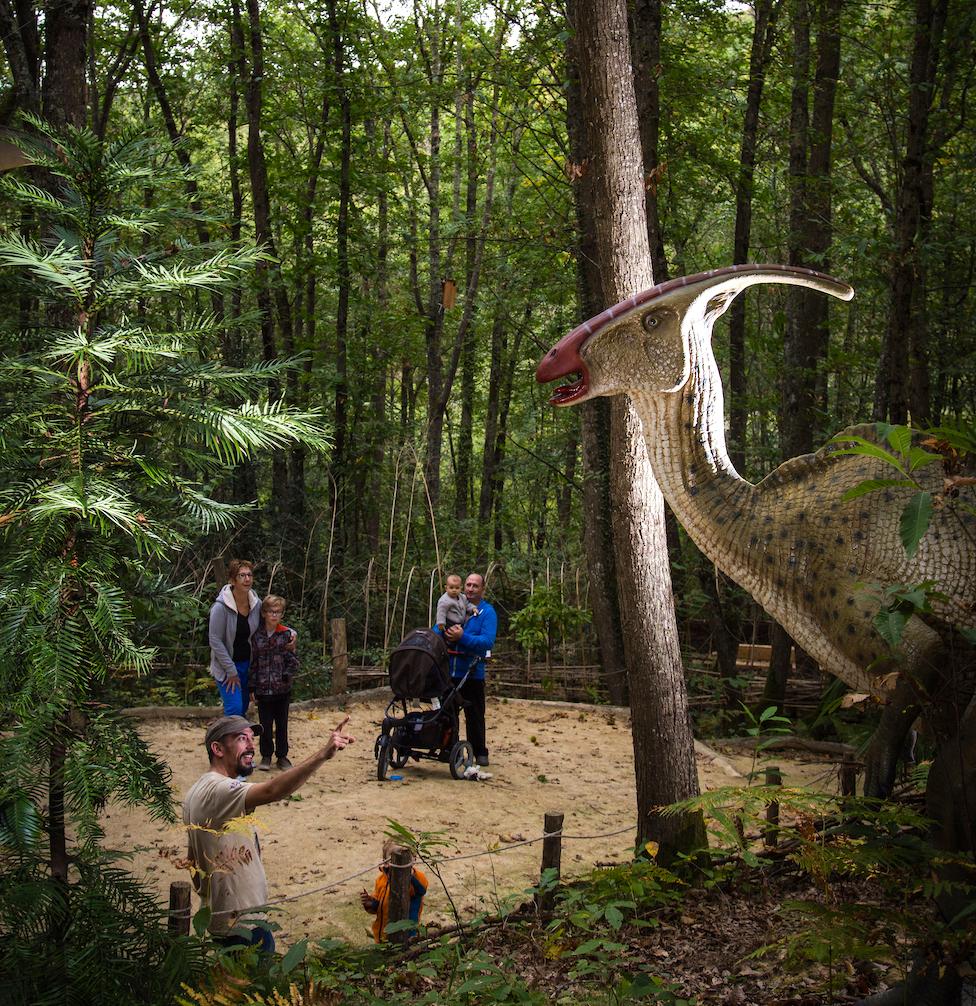 dinausarussen prehistorisch park