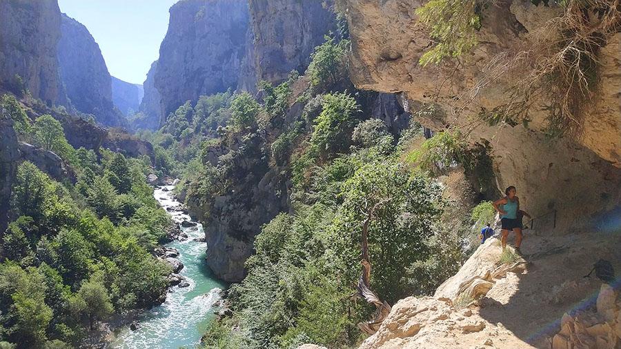 Sentier de l'Imbut Gorges du Verdon
