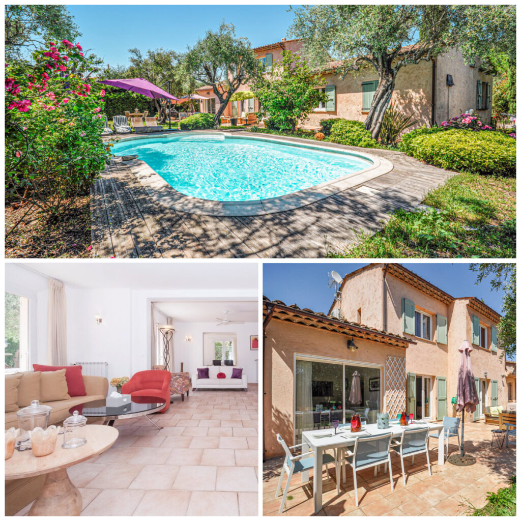 Vakantiehuis Grasse Novasol Provence