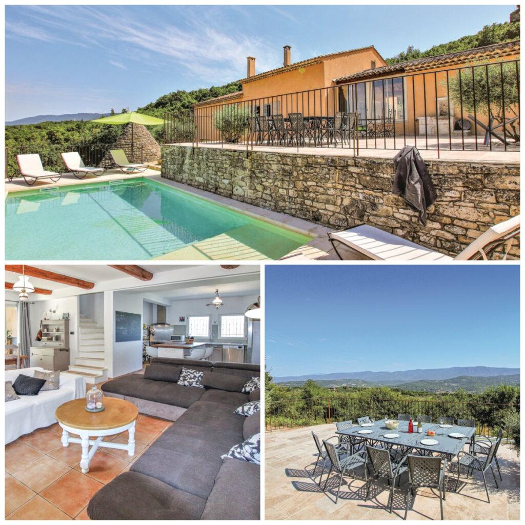 Novasol vakantiehuis Provence Saignon