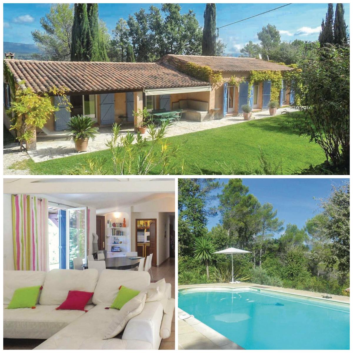 Novasol vakantiehuis Provence Tourette Lourmarin
