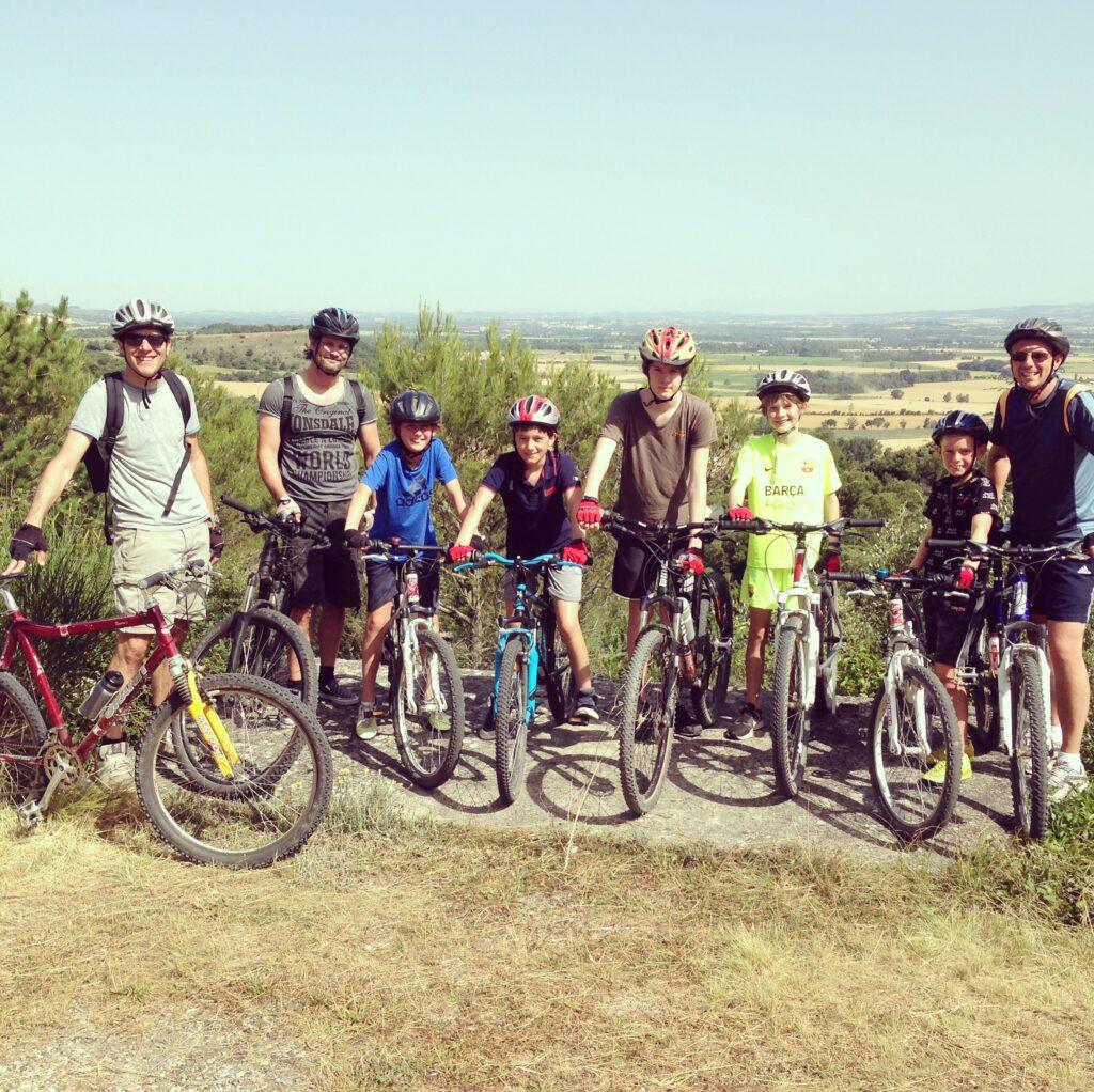 fietsen omgeving aude vakantieadres