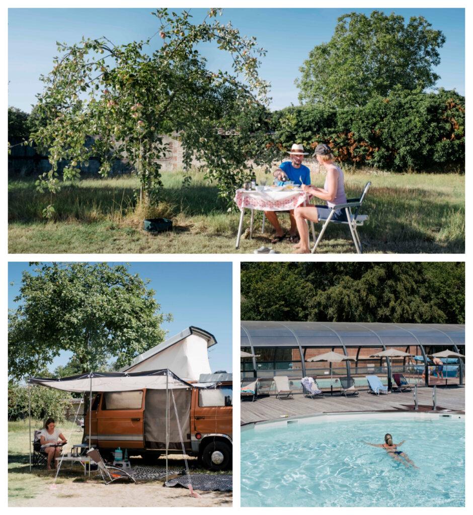 Huttopia Camping Calvados in Normandie