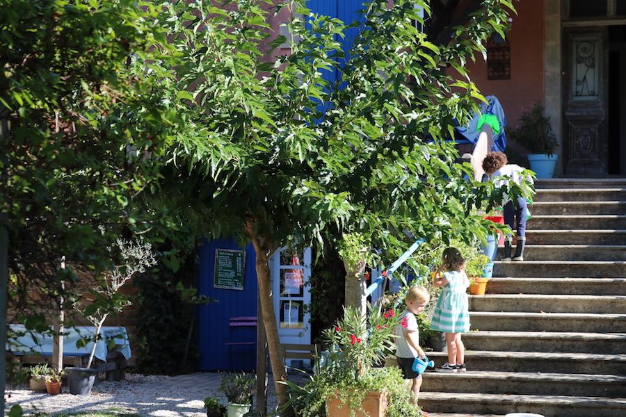 les escaliers de la combe vakantiedomein in zuidwest frankrijk
