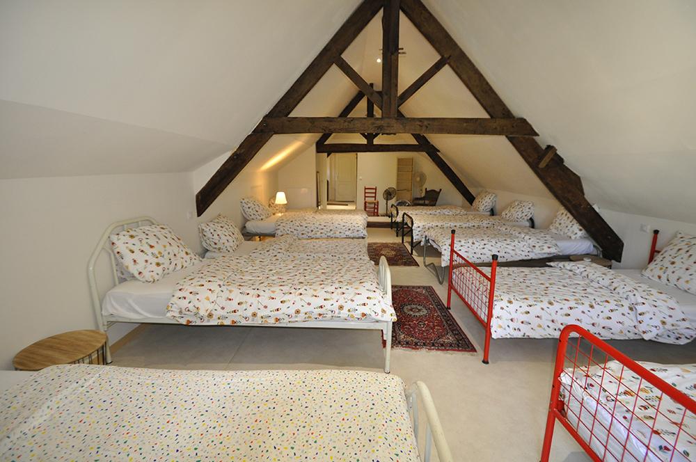 Vakantiehuis Domain Le Relais Slaapzaal op zolder Dordogne Bergerac