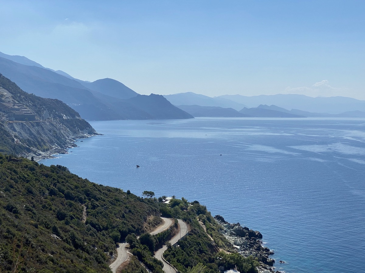 Fietsen Corsica Cap Corse.