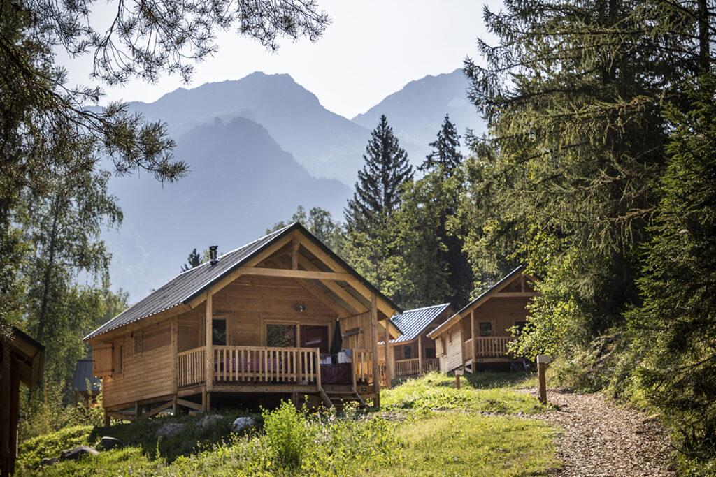 Huttopia Bozel Franse Alpen