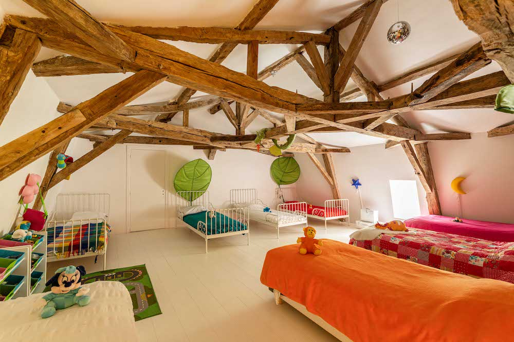 kids bedroom Le Ginot Chartreuse