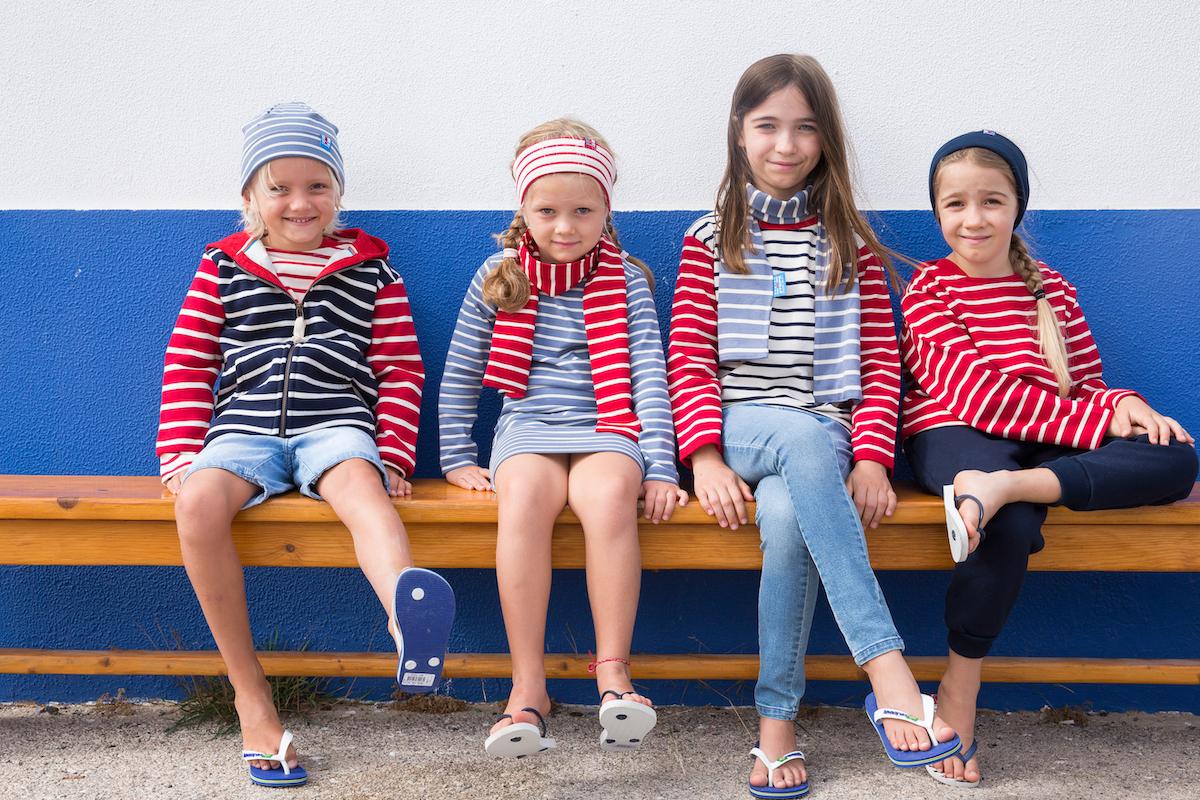 Breton Stripe collectie voor kinderen 2021