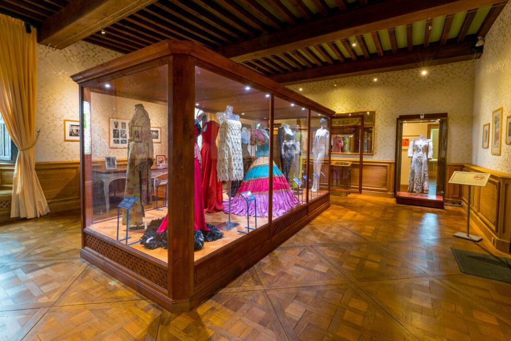 chateau des Milandes expositie