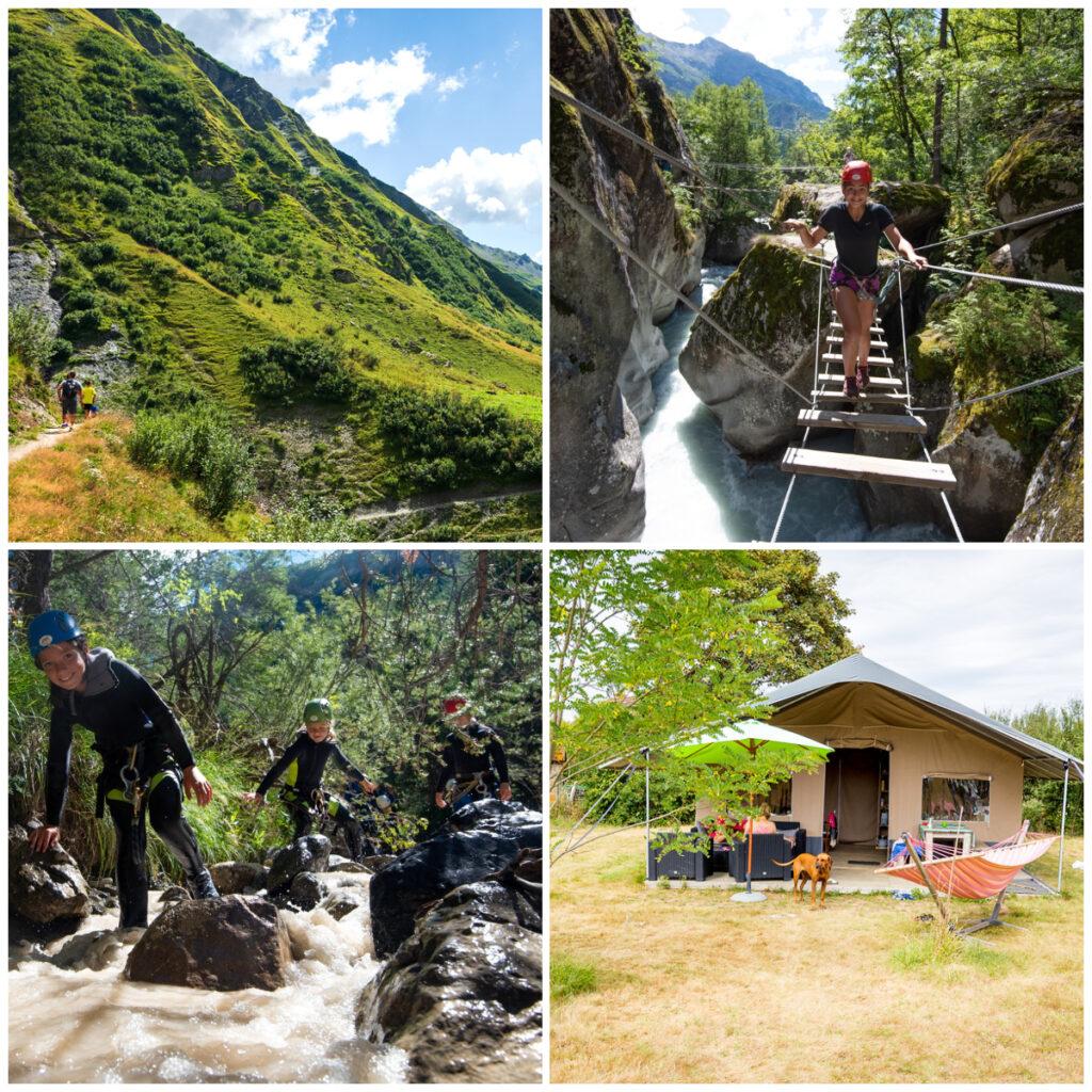 Actieve familievakantie in de natuur Bergen Pyrénées