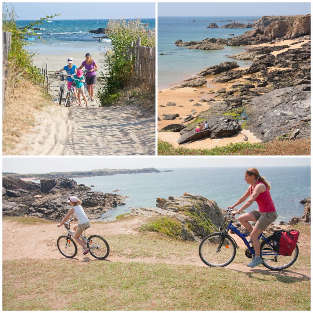 Actieve familievakantie in de natuur fietsen