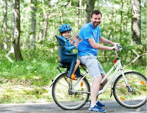 Huttopia camping fietshuur