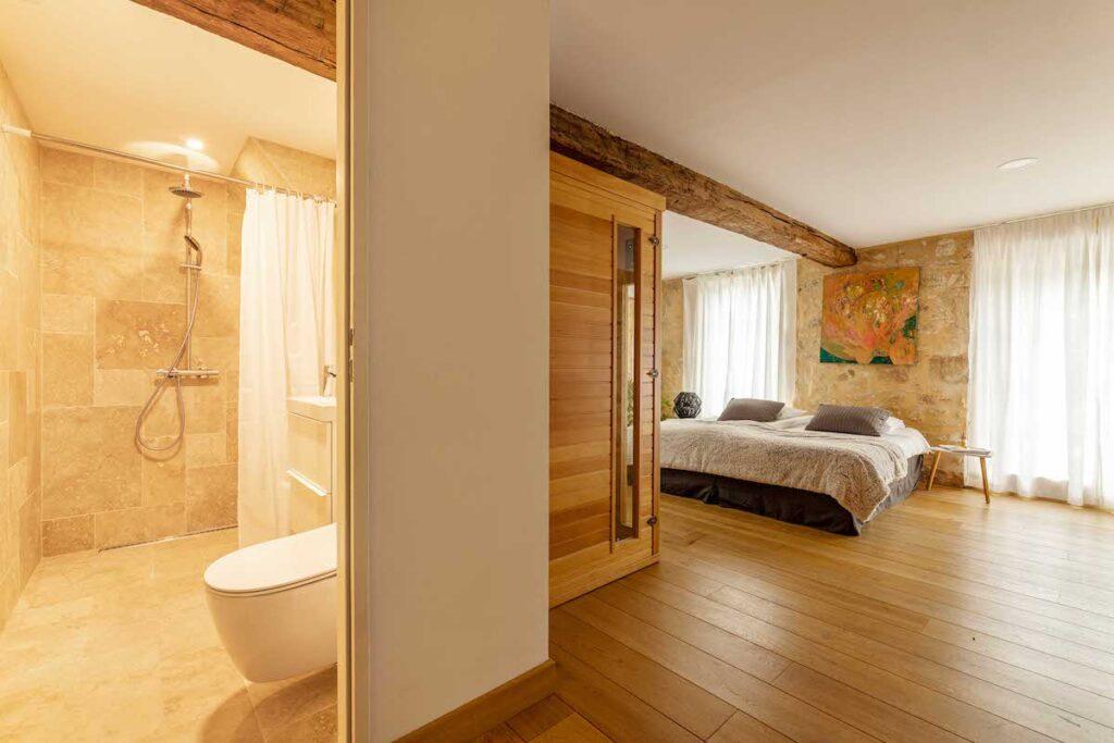 slaapkamer maison boutique dordogne