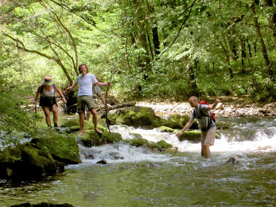 Les renardières vakantie Limousin Corrèze wandelen