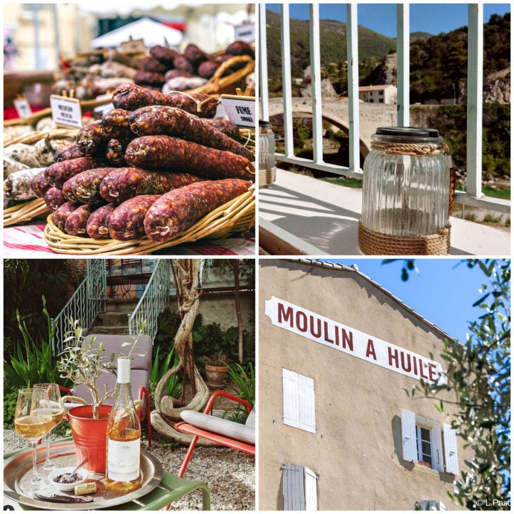 Nyons markt olijfmolen vakantietips relaxen