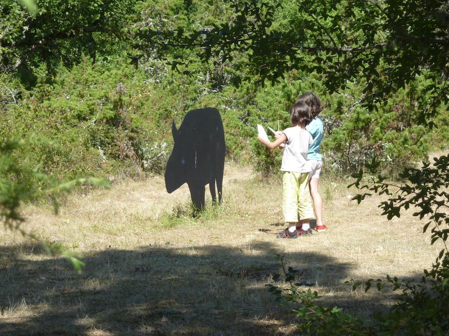 Jeux enfants Phosphatières Cloup d'Aural