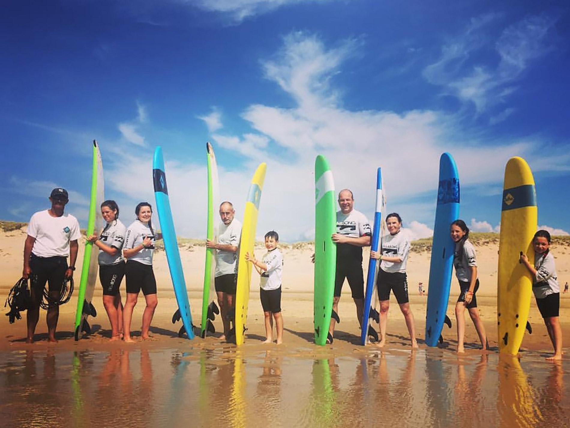 Yelloh Village Surf Camping activités Les Grands Pins