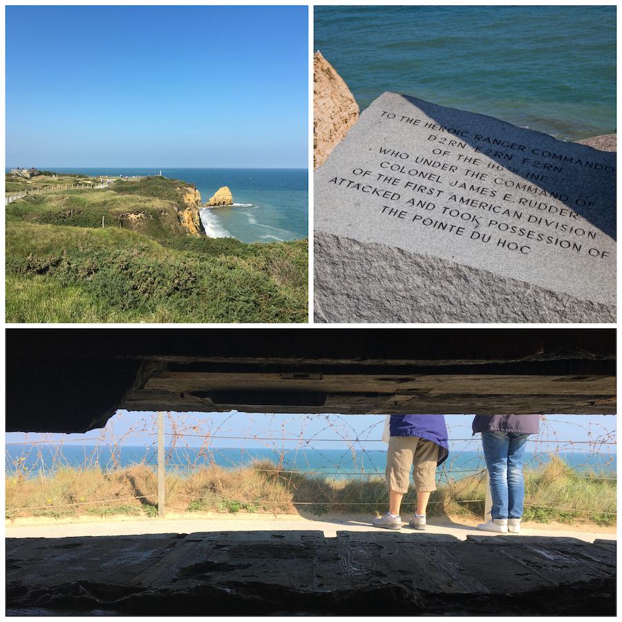 Pointe du Hoc Normandie D-Day WOII