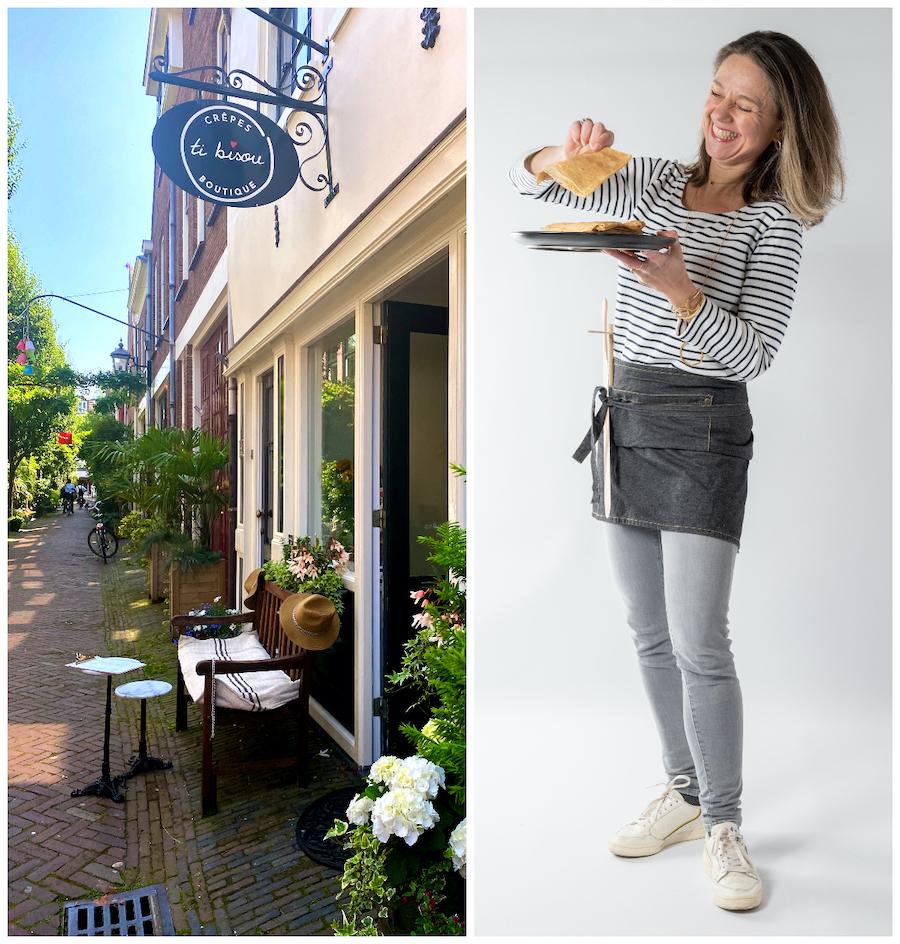 Carole Golitz creperie in Haarlem Klein Houtsraat