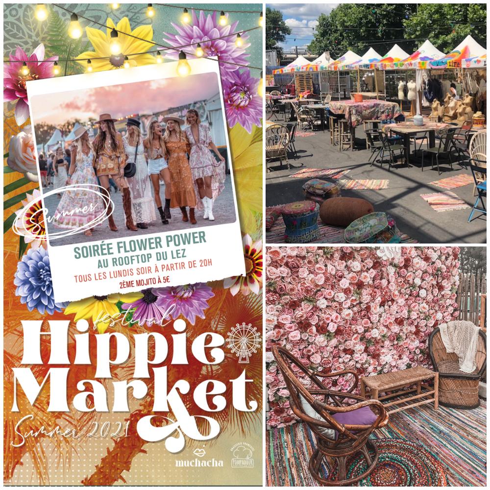 Hippie market Montpellier: Marché du Lez