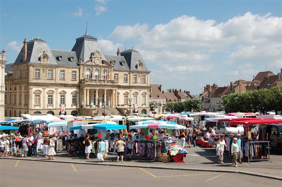 Marché d'Autun Bourgogne