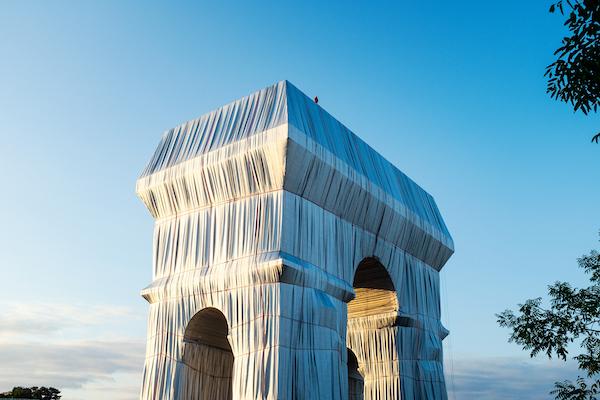 Arce de Triomphe ingepakt Christo