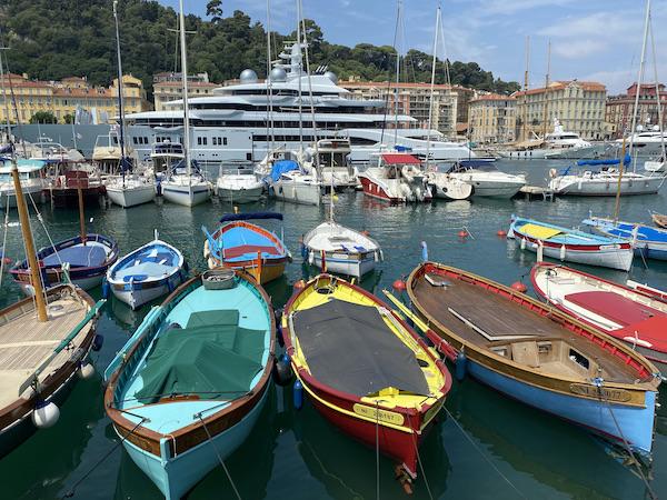 Nice boten haven
