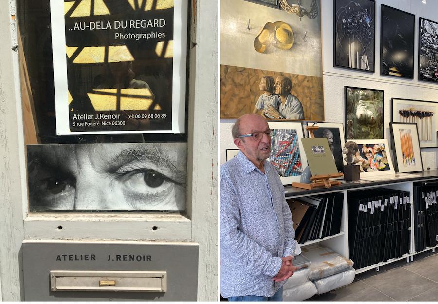 atelier Jacques Renoir in Nice