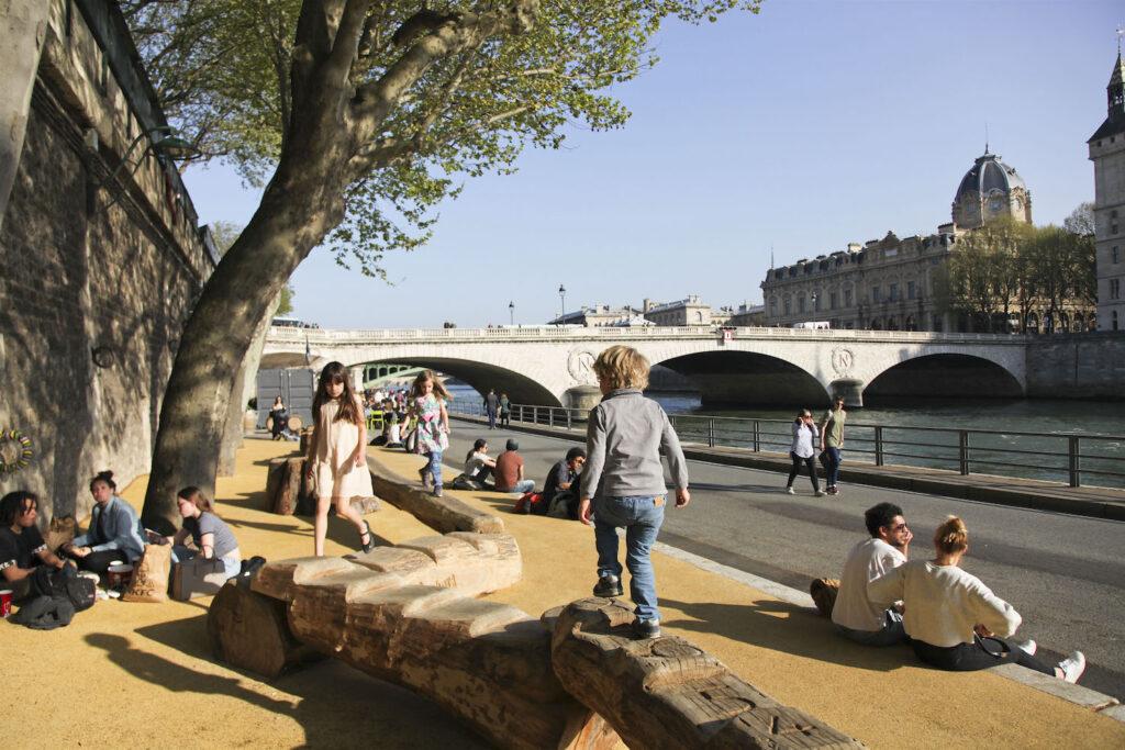 Berges Seine parijs