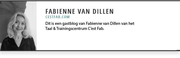 Gastblogger Fabienne Dillen