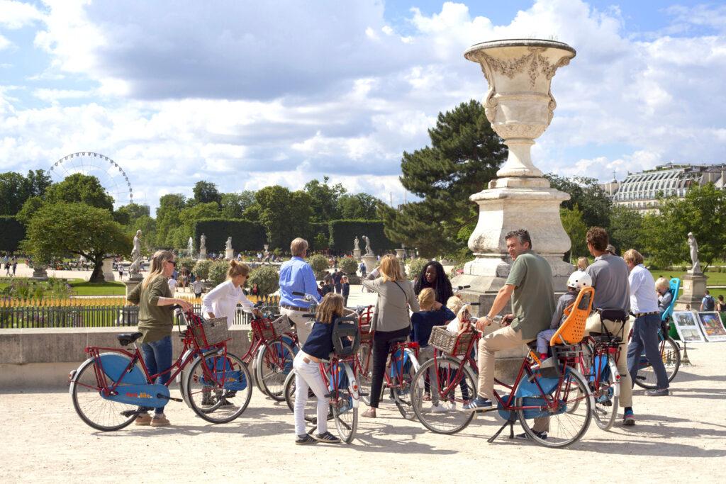 fietsen-in-Parijs