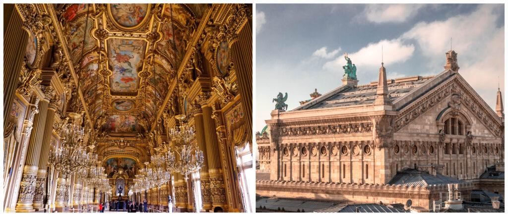 collage opera Parijs