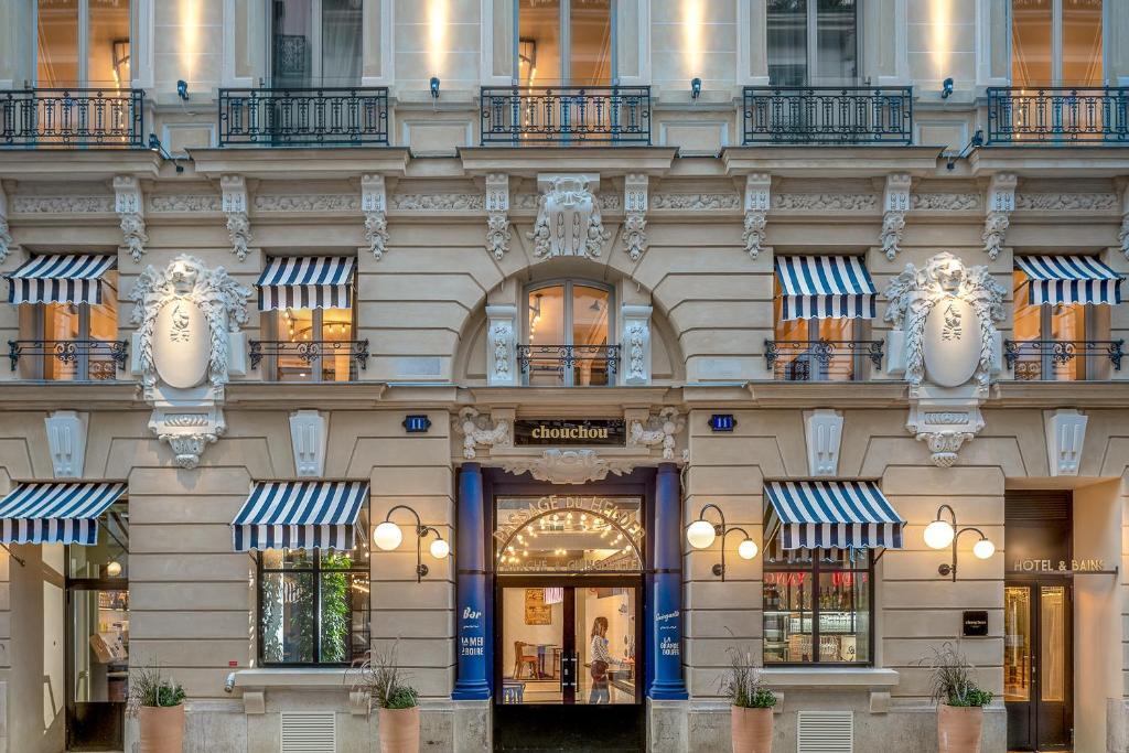 mooie hippe nieuwe hotels Parijs Chouchou