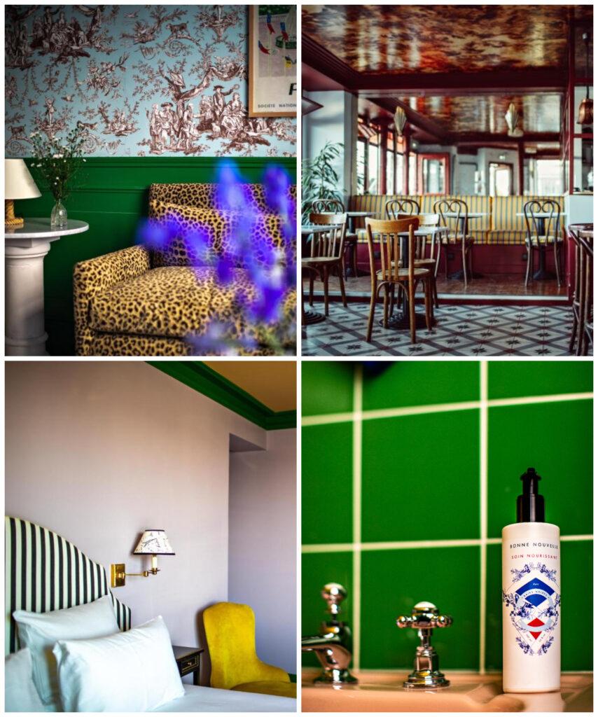 hotel Parijs romantische trendy