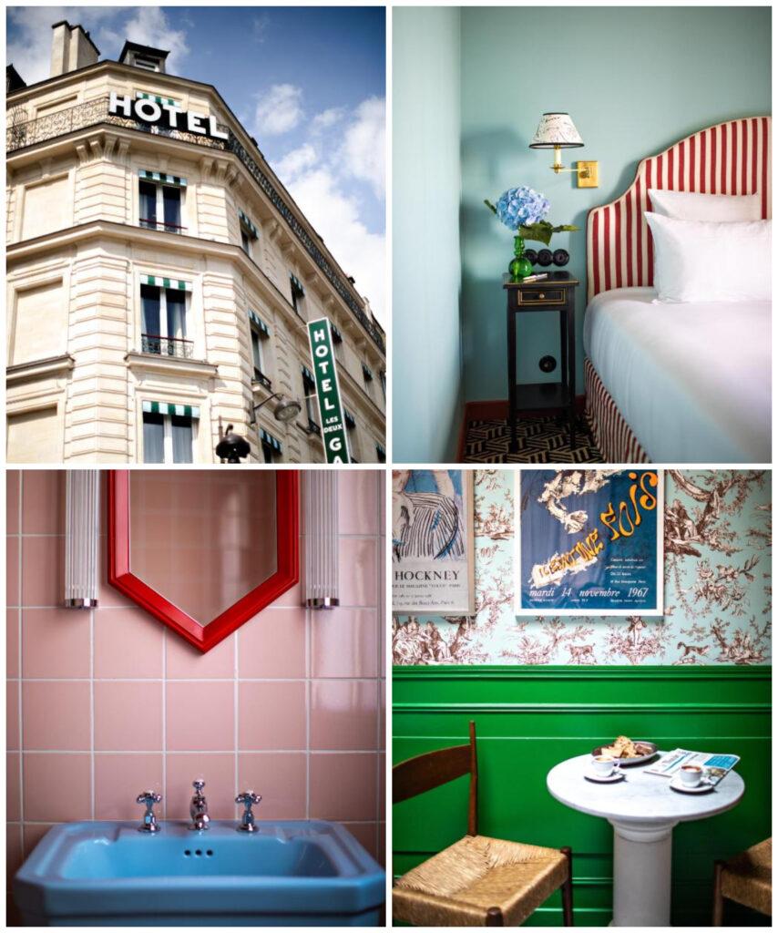 Parijs leuk modern trendyhotel bij Gare du Nord